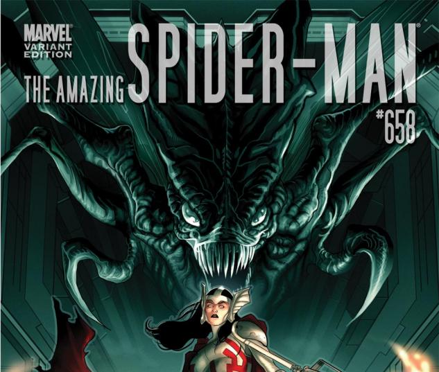 Amazing Spider-Man (1999) #658, THOR HOLLYWOOD VARIANT