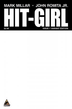 Hit-Girl (2012) #1 (Blank Cover Variant)