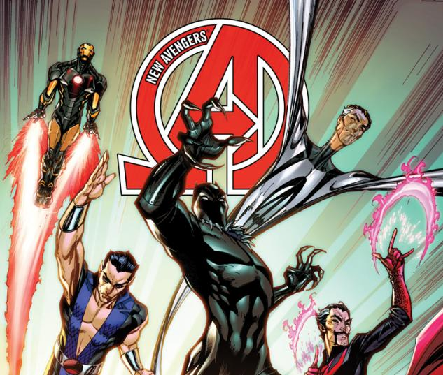 cover from New Avengers (2013) #1 (CAMPBELL VARIANT)