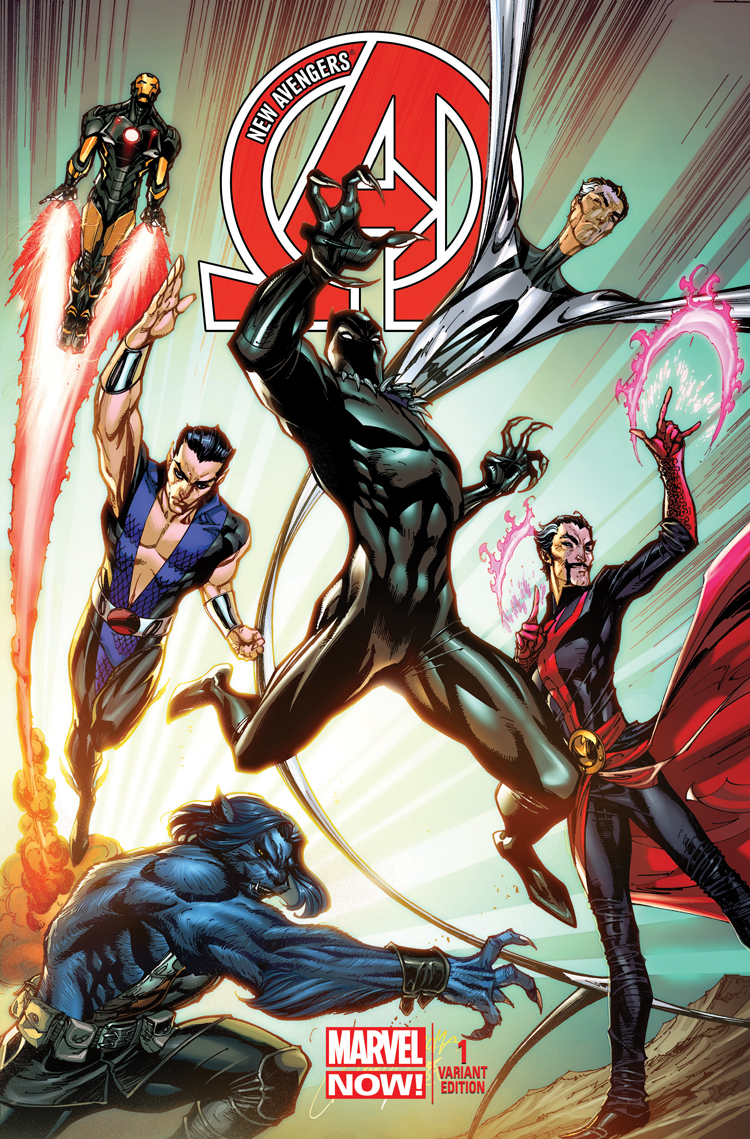 New Avengers (2013) #1 (Campbell Variant)