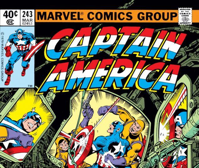 Captain America (1968) #243 Cover