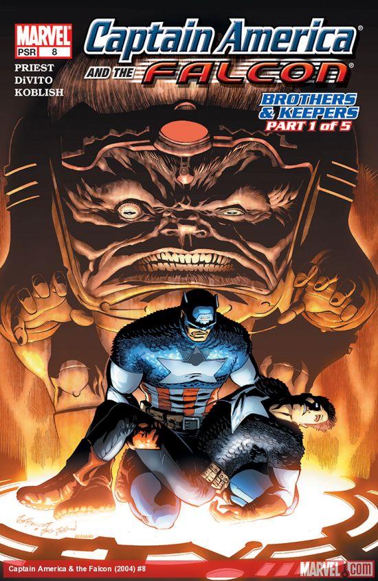 Captain America & the Falcon (2004) #8