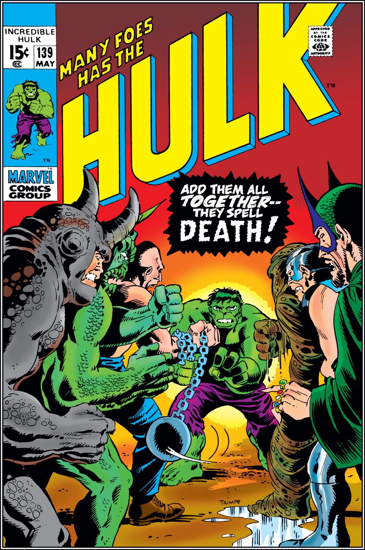 Incredible Hulk (1962) #139