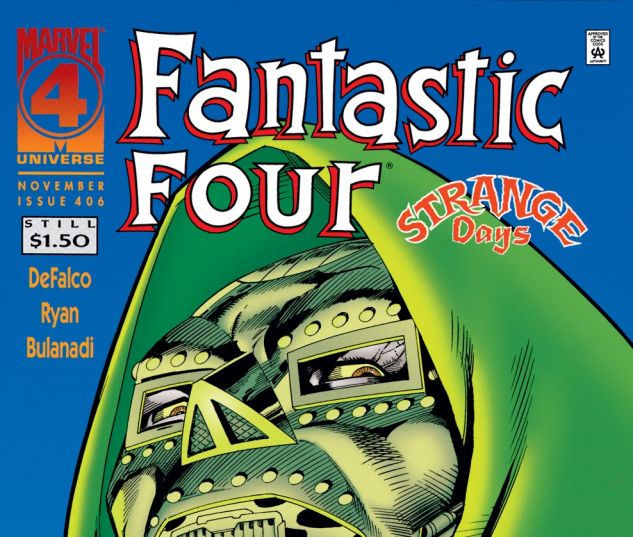 Fantastic Four (1961) #406 Cover
