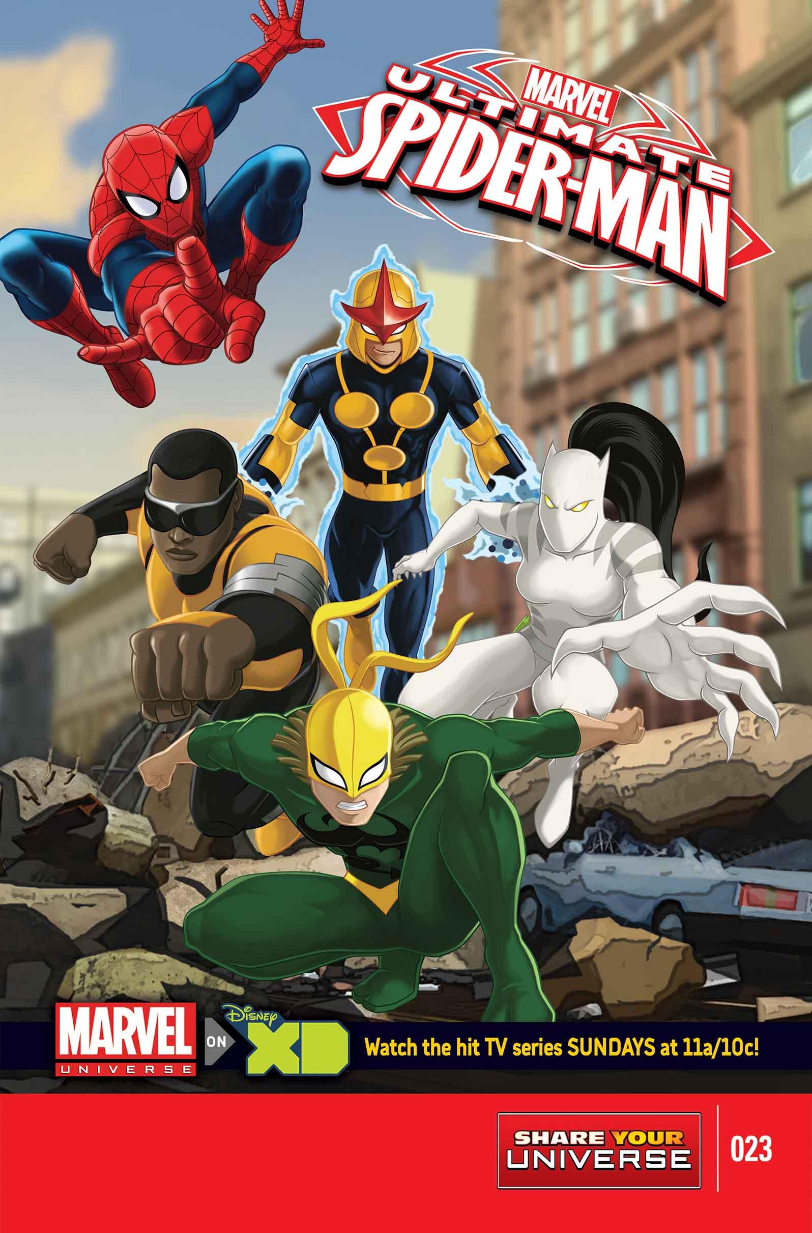 Marvel Universe Ultimate Spider-Man (2012) #23