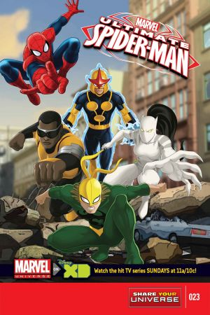 Marvel Universe Ultimate Spider-Man #23