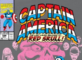 Captain America (1968) #394 Cover