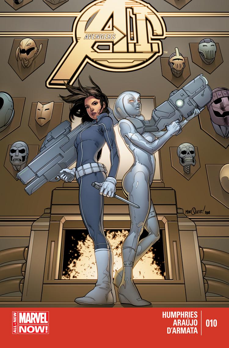 Avengers A.I. (2013) #10