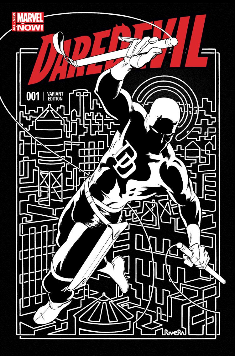 Daredevil (2014) #1 (Rivera Variant)