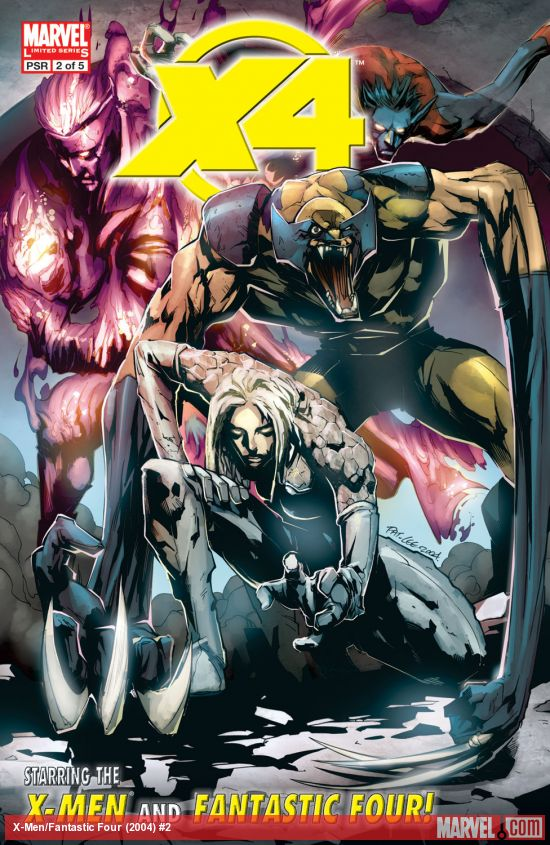 X-Men/Fantastic Four (2004) #2