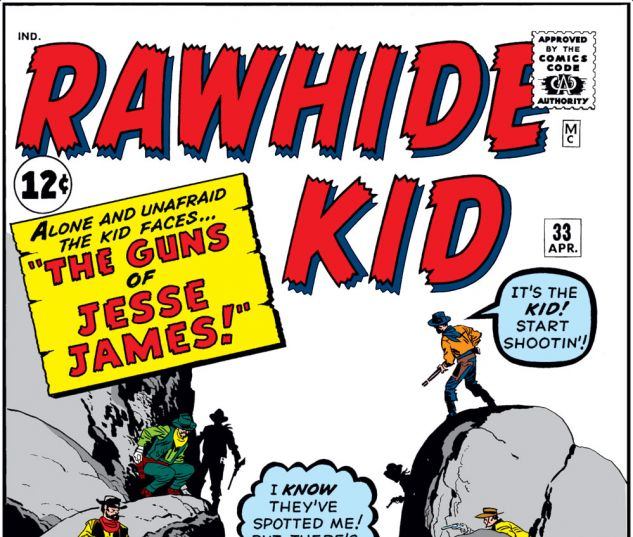 Rawhide Kid (1960) #33 Cover