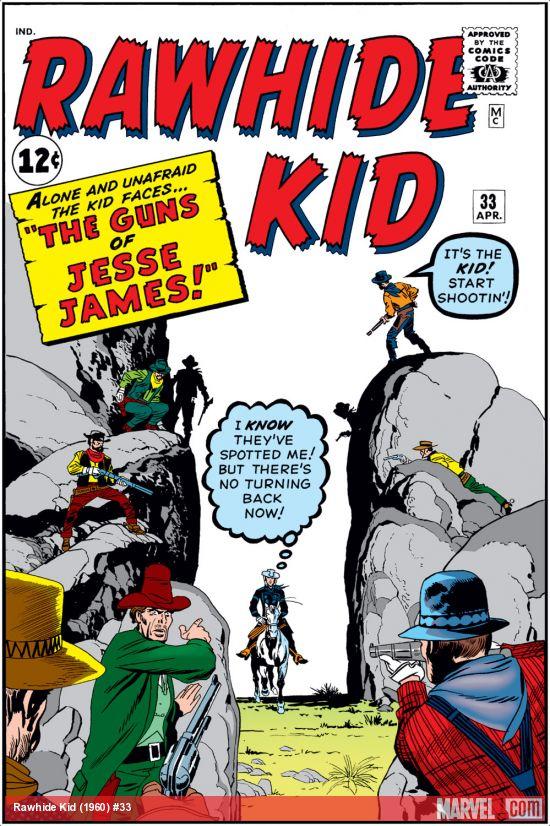 Rawhide Kid (1955) #33
