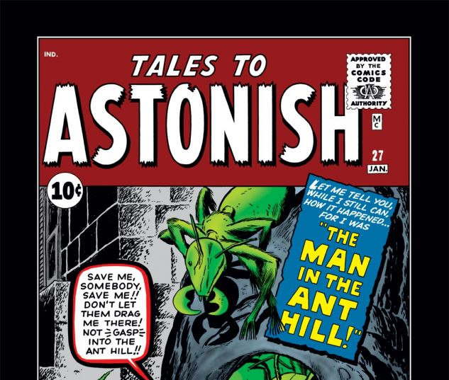 Tales to Astonish (1959) #27 Cover