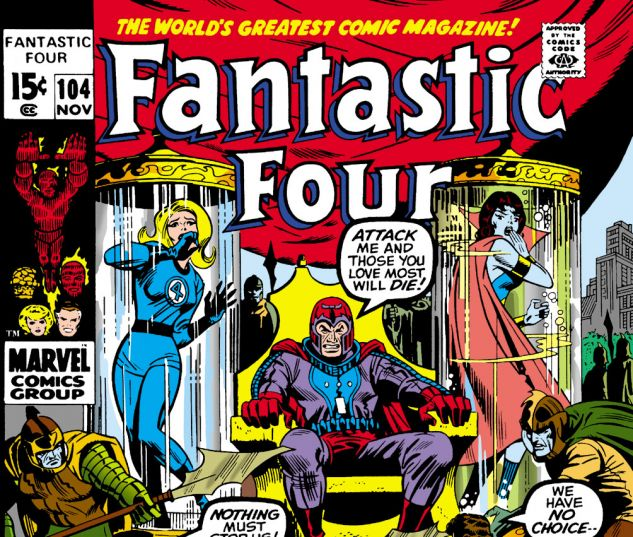 Fantastic Four (1961) #104 Cover