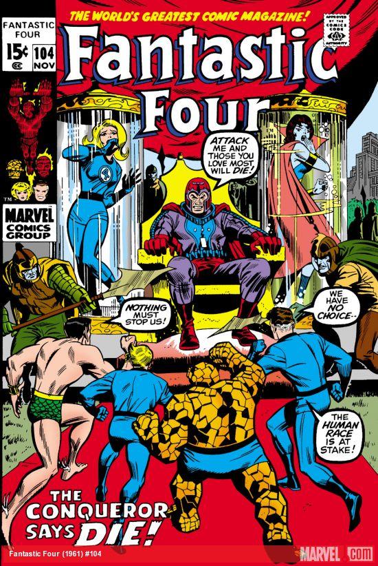 Fantastic Four (1961) #104