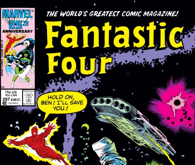 Fantastic Four (1961) #297 Cover