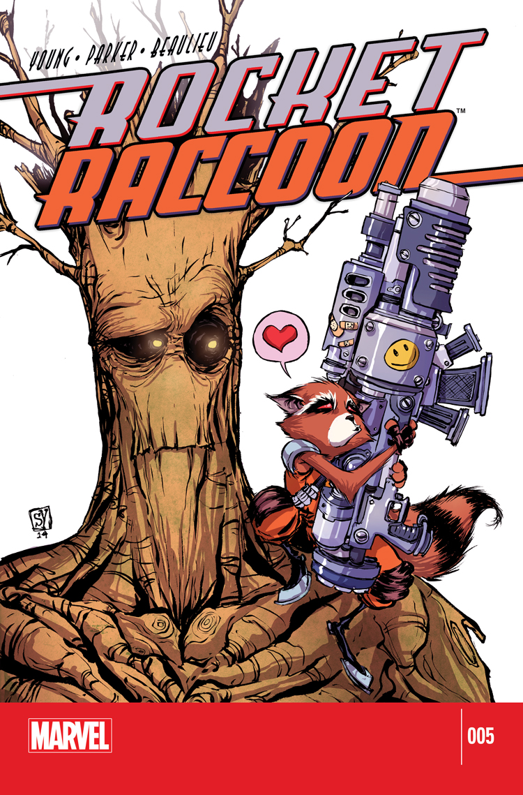 Rocket Raccoon (2014) #5