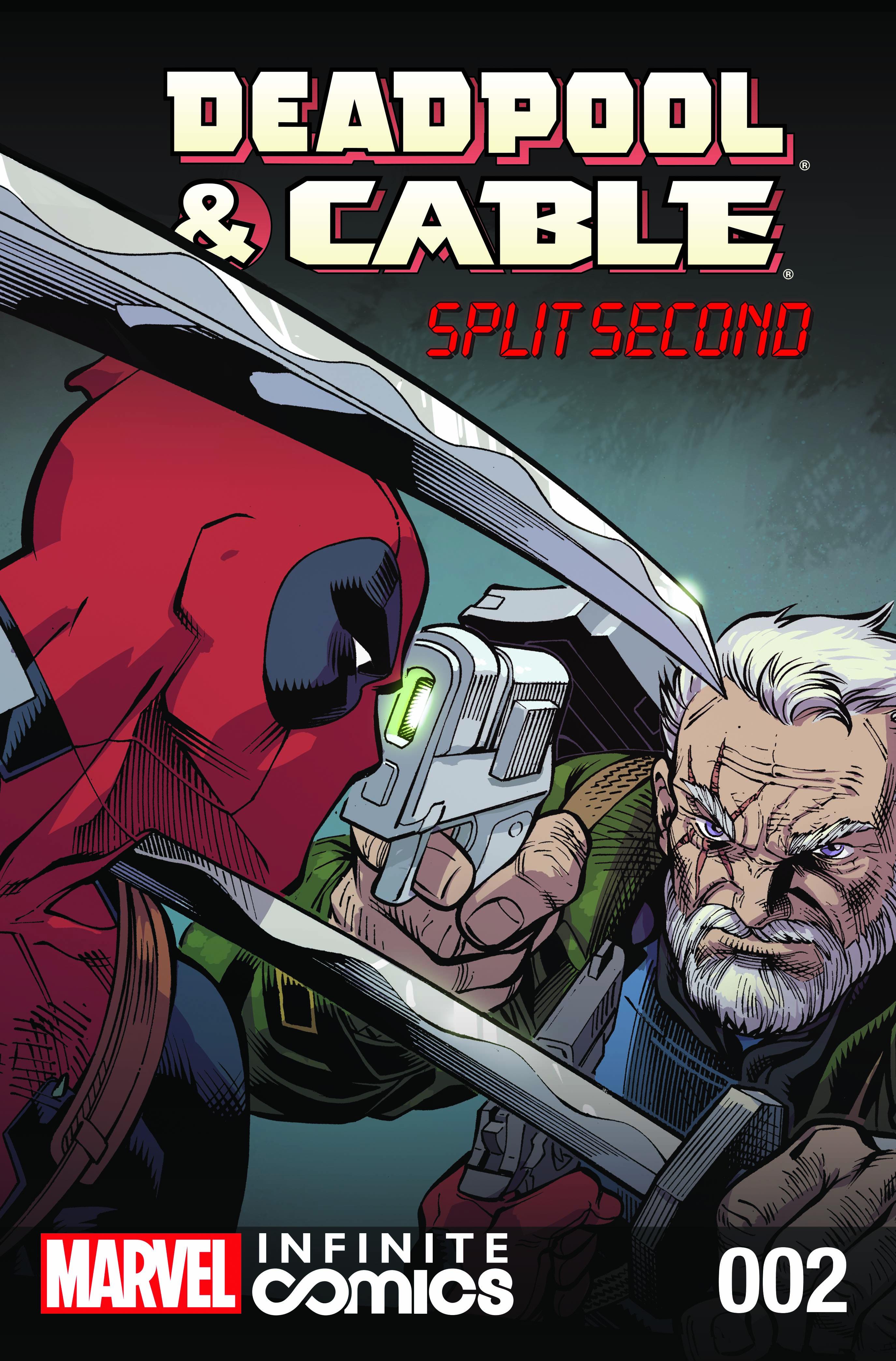Deadpool & Cable: Split Second Infinite Comic (2015) #2
