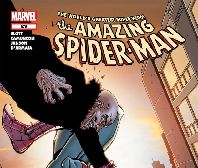 AMAZING SPIDER-MAN (1999) #675 Cover
