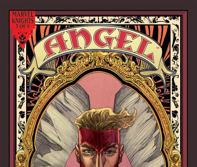 ANGEL: REVELATIONS (2008) #5 Cover