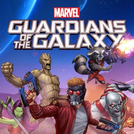 Marvel Universe Guardians of the Galaxy Infinite Comic (2015 - Present)