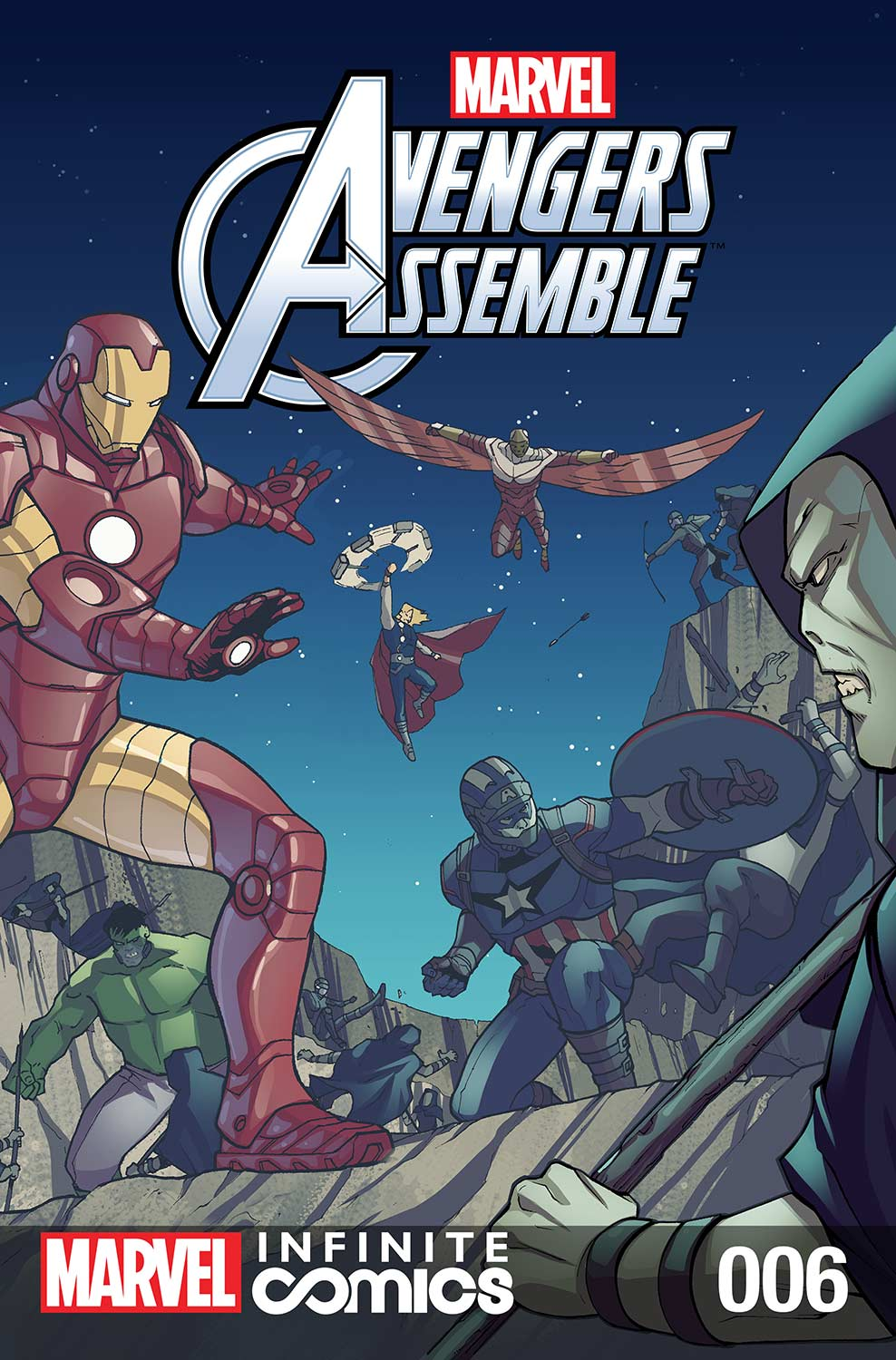 Marvel Universe Avengers Infinite Comic (2016) #6