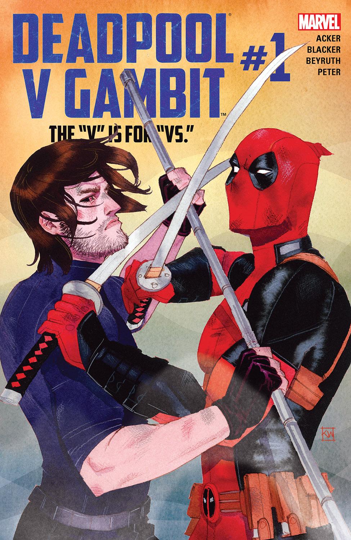 Deadpool V Gambit (2016) #1