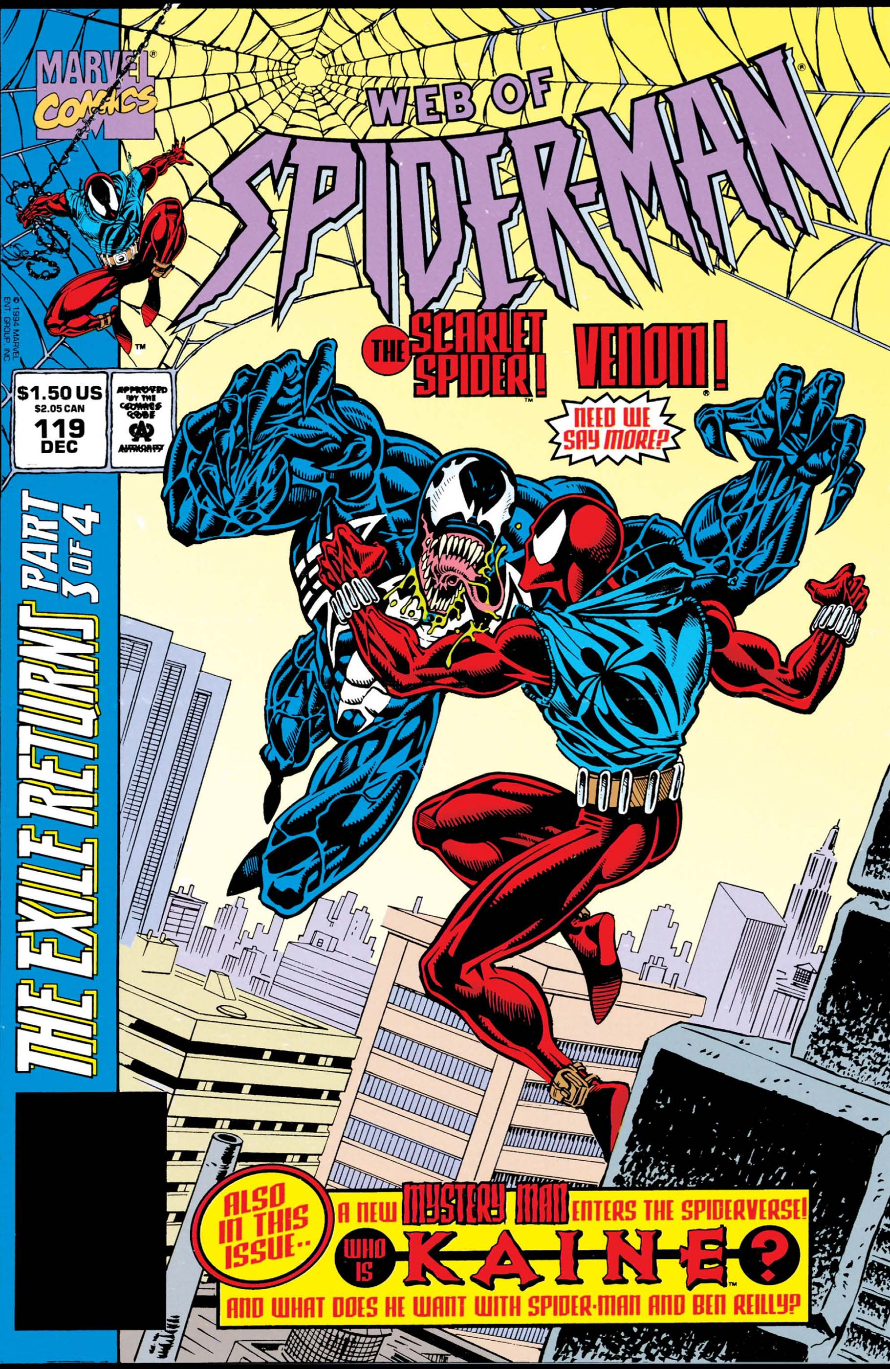 Web of Spider-Man (1985) #119