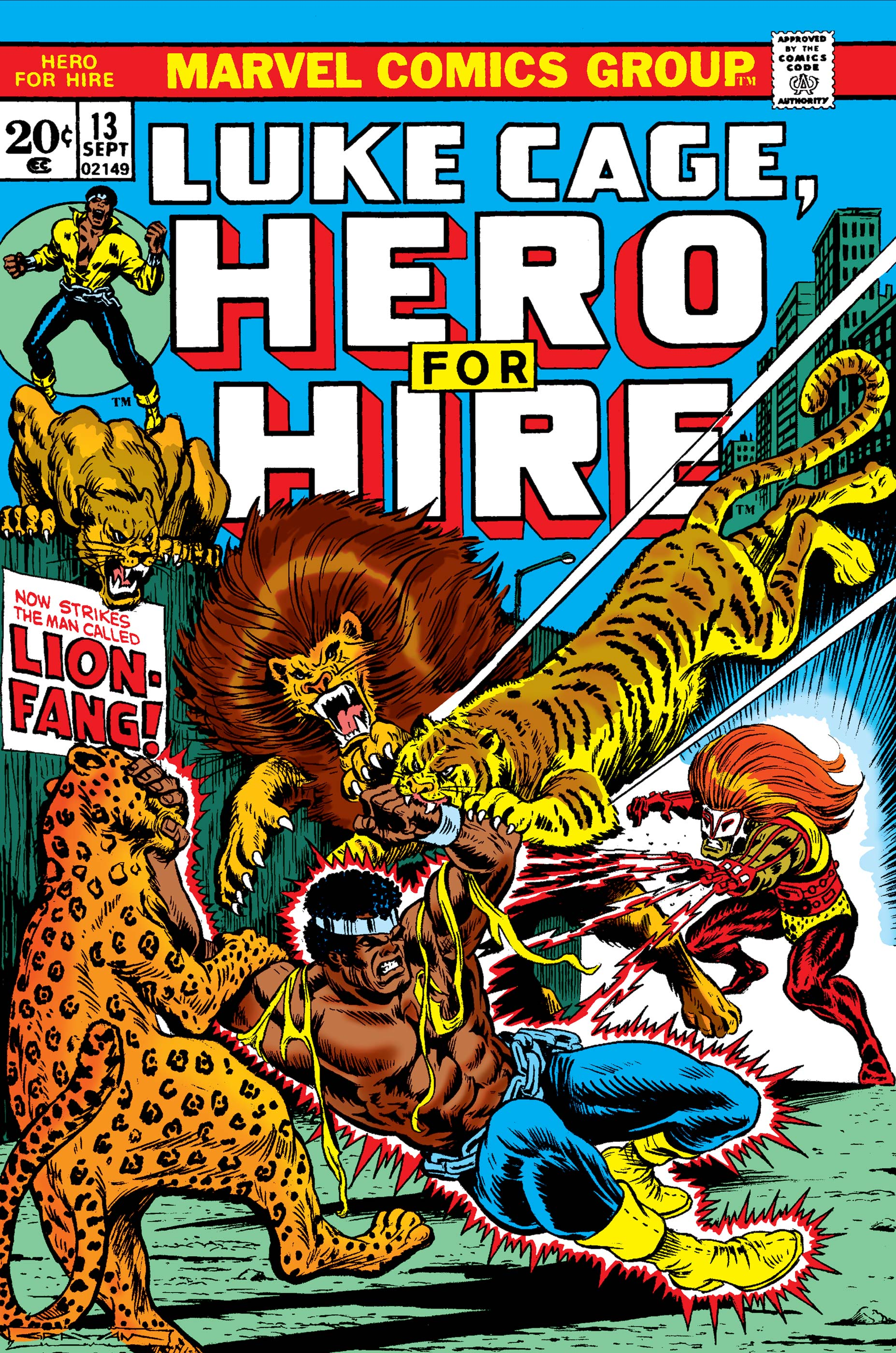 Luke Cage, Hero for Hire (1972) #13