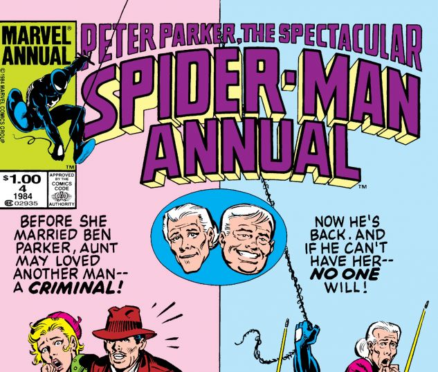 Peter Parker, The Spectacular Spider-Man Annual (1979) #4