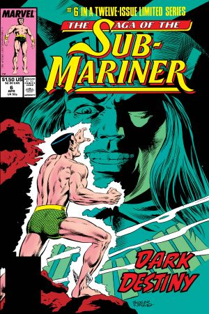 Saga of the Sub-Mariner (1988) #6