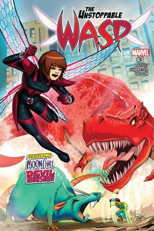 The Unstoppable Wasp (2017) #3