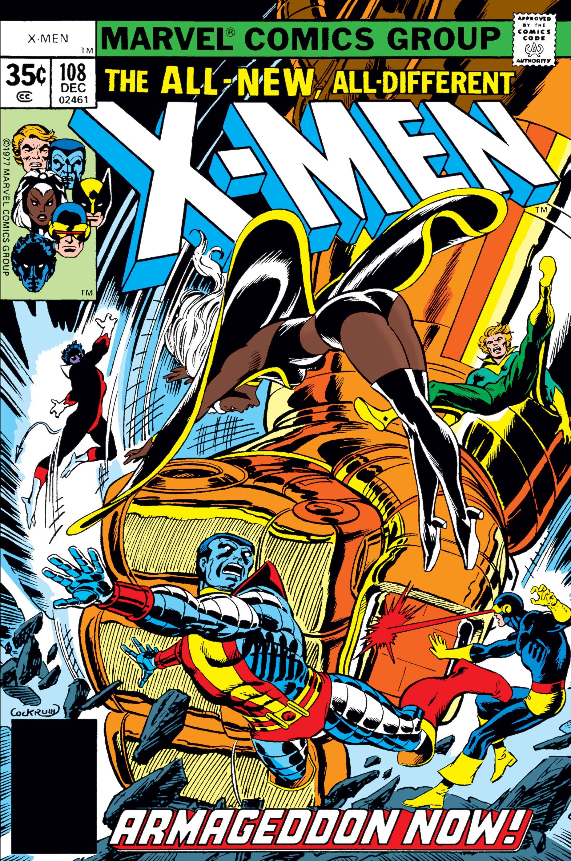 Uncanny X-Men (1963) #108