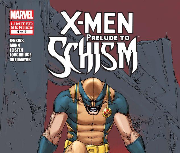X-MEN: PRELUDE TO SCHISM (2011) #4