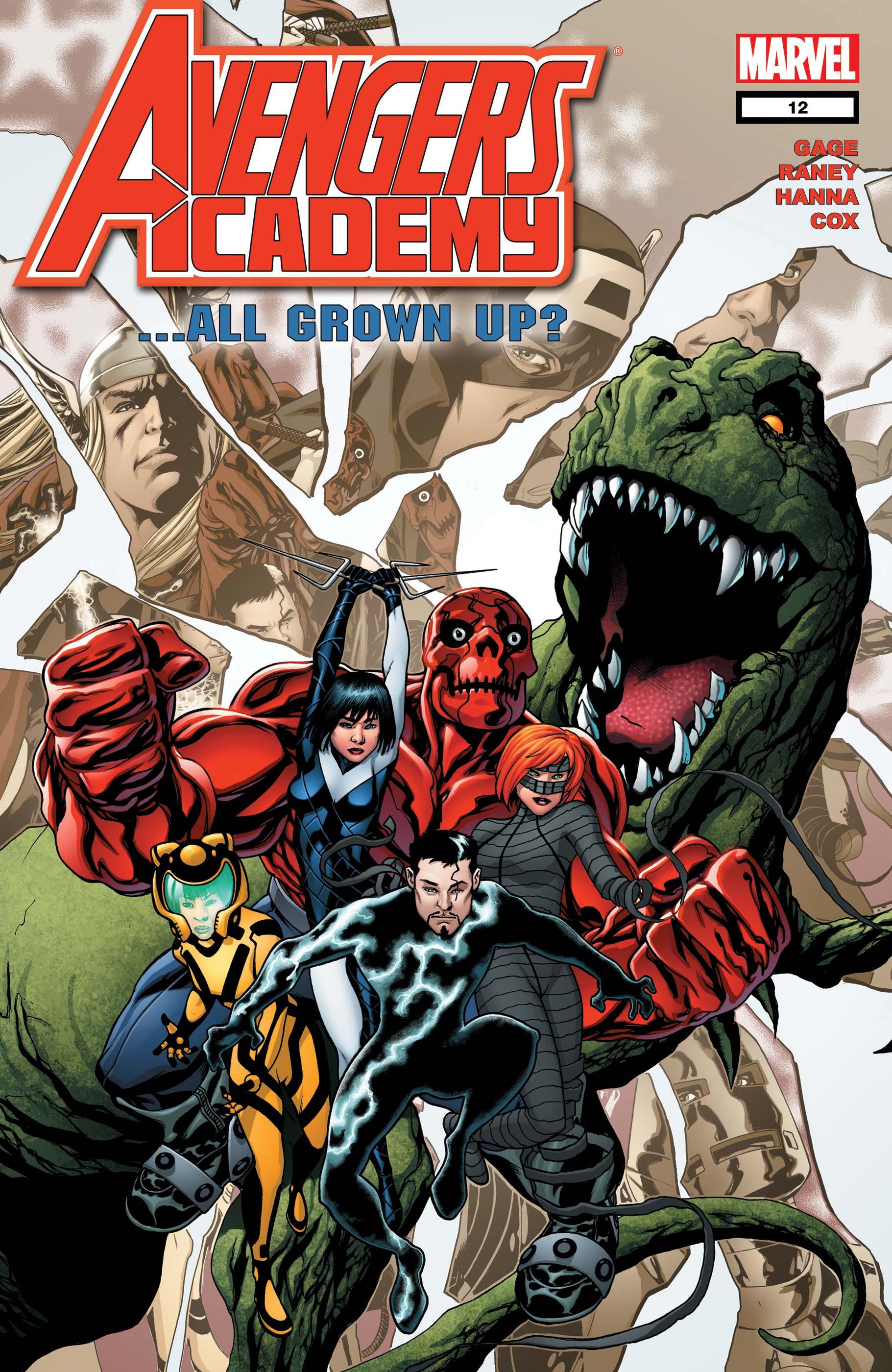 Avengers Academy (2010) #12