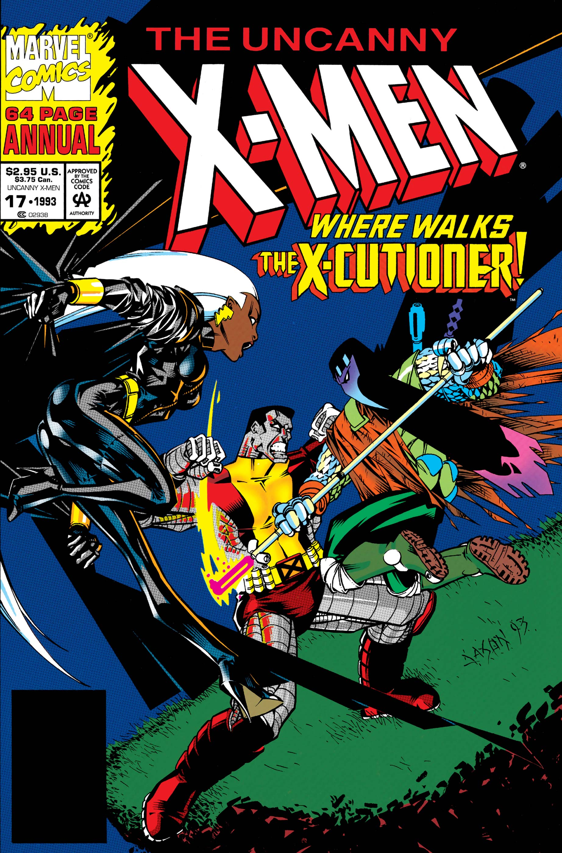 Uncanny X-Men Annual (1992) #17