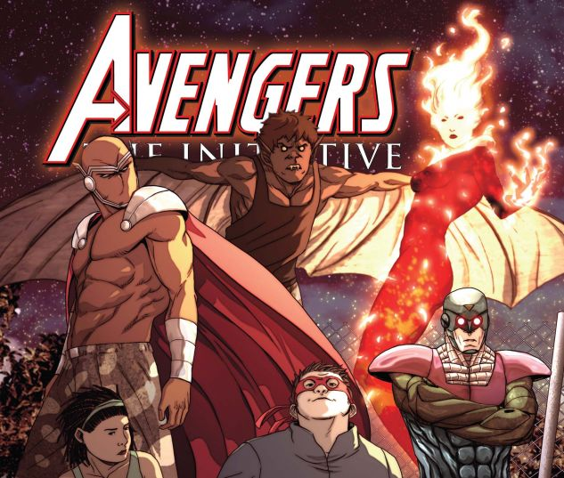 AVENGERS: THE INITIATIVE (2007) #13