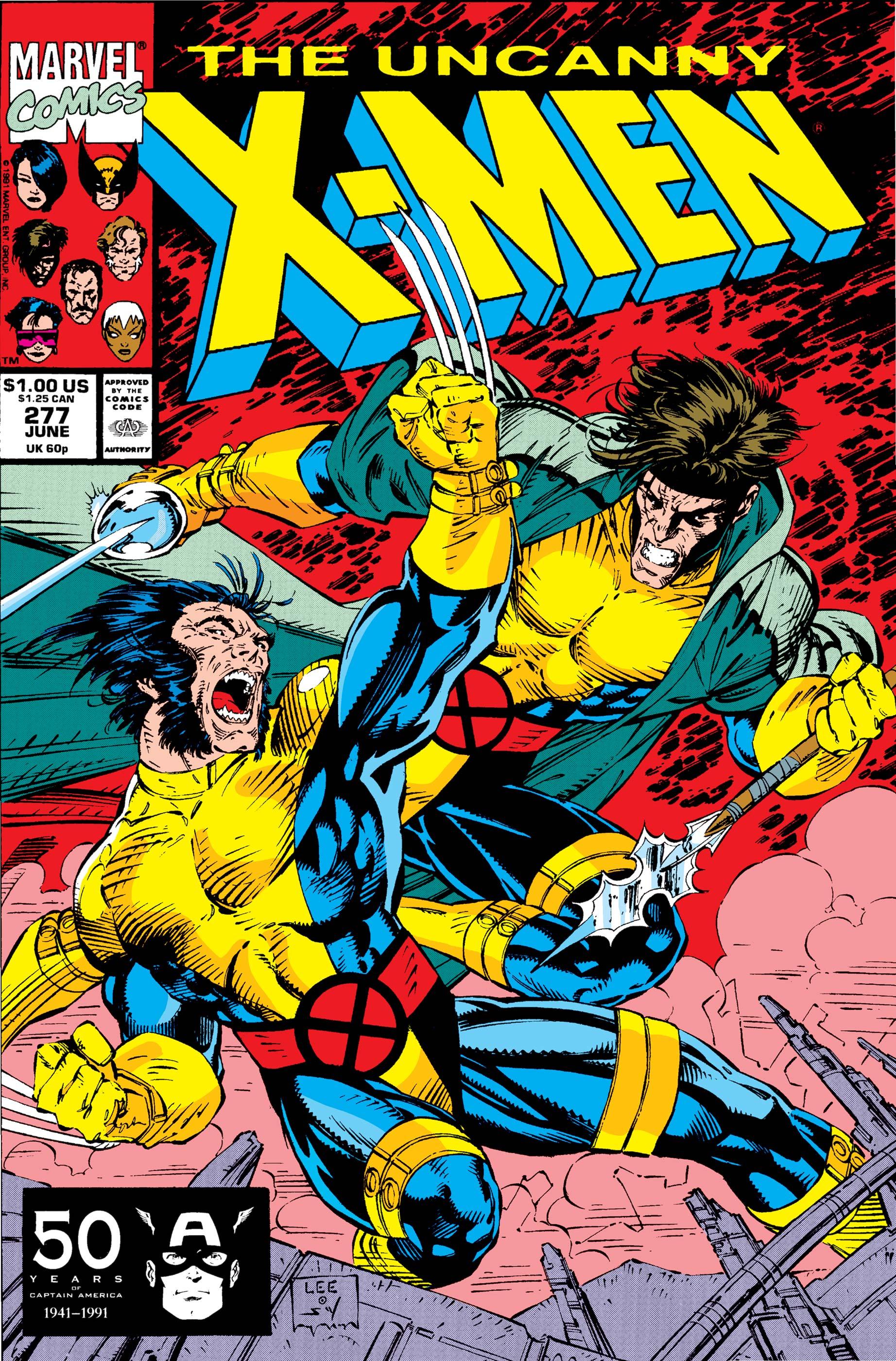Uncanny X-Men (1963) #277