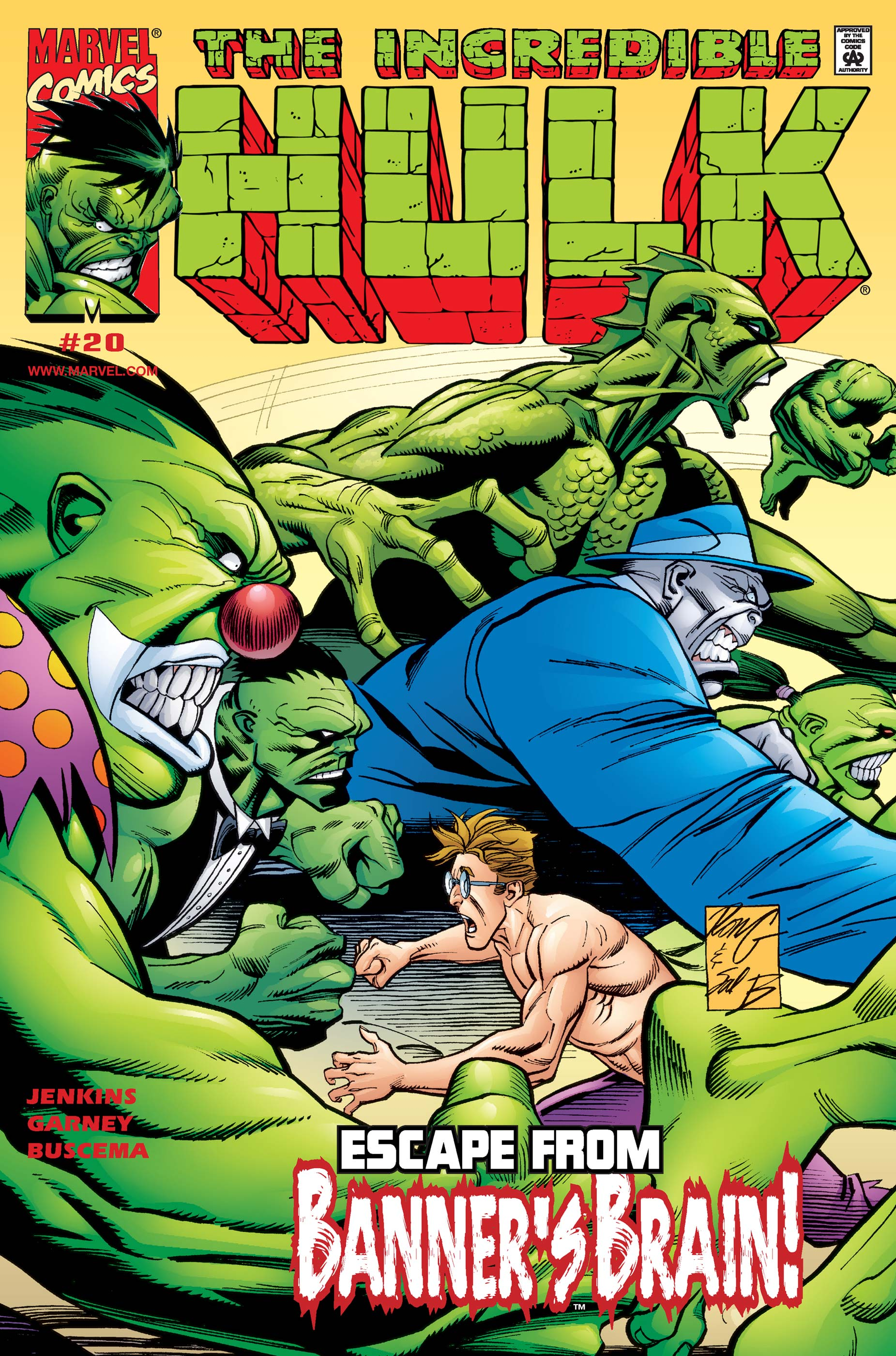 Incredible Hulk (1999) #20