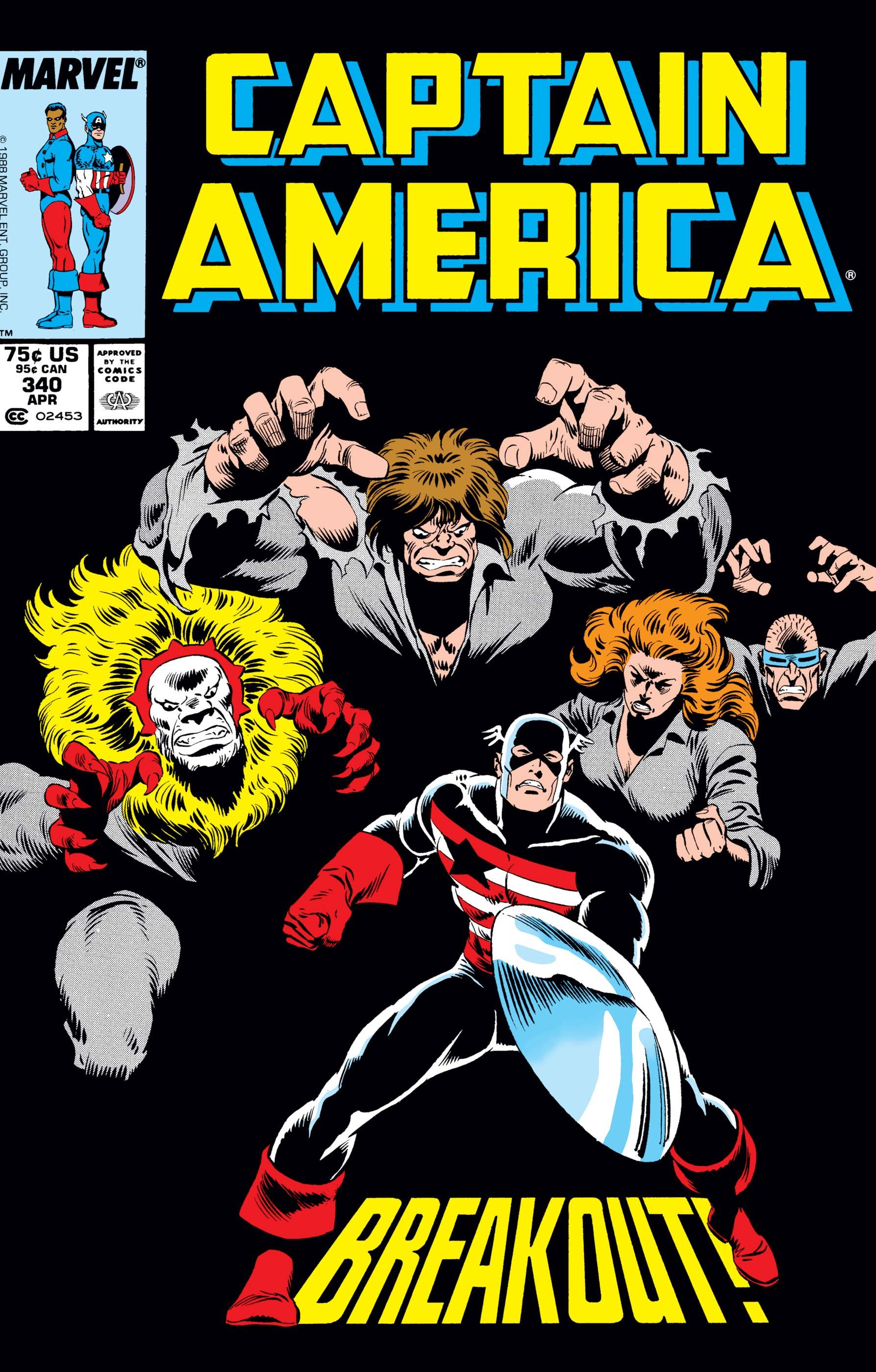 Captain America (1968) #340