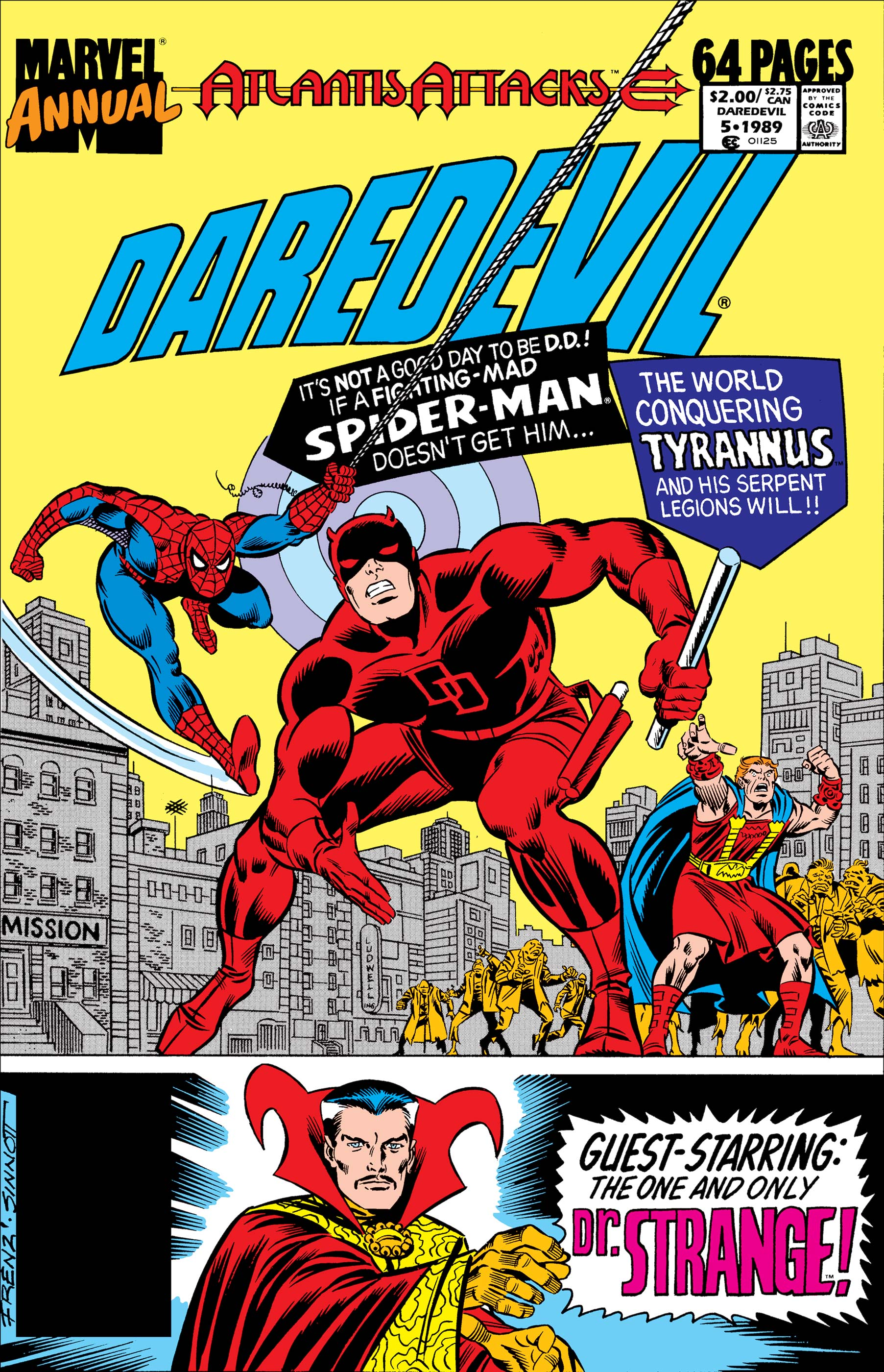 Daredevil Annual (1967) #5