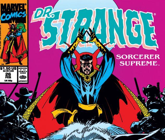 Cover for DOCTOR STRANGE, SORCERER SUPREME #26