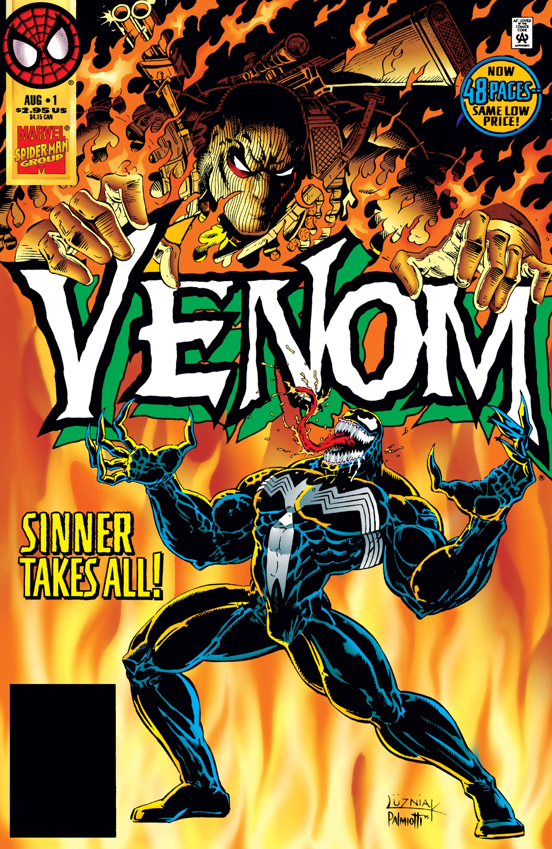 Venom: Sinner Takes All (1995) #1
