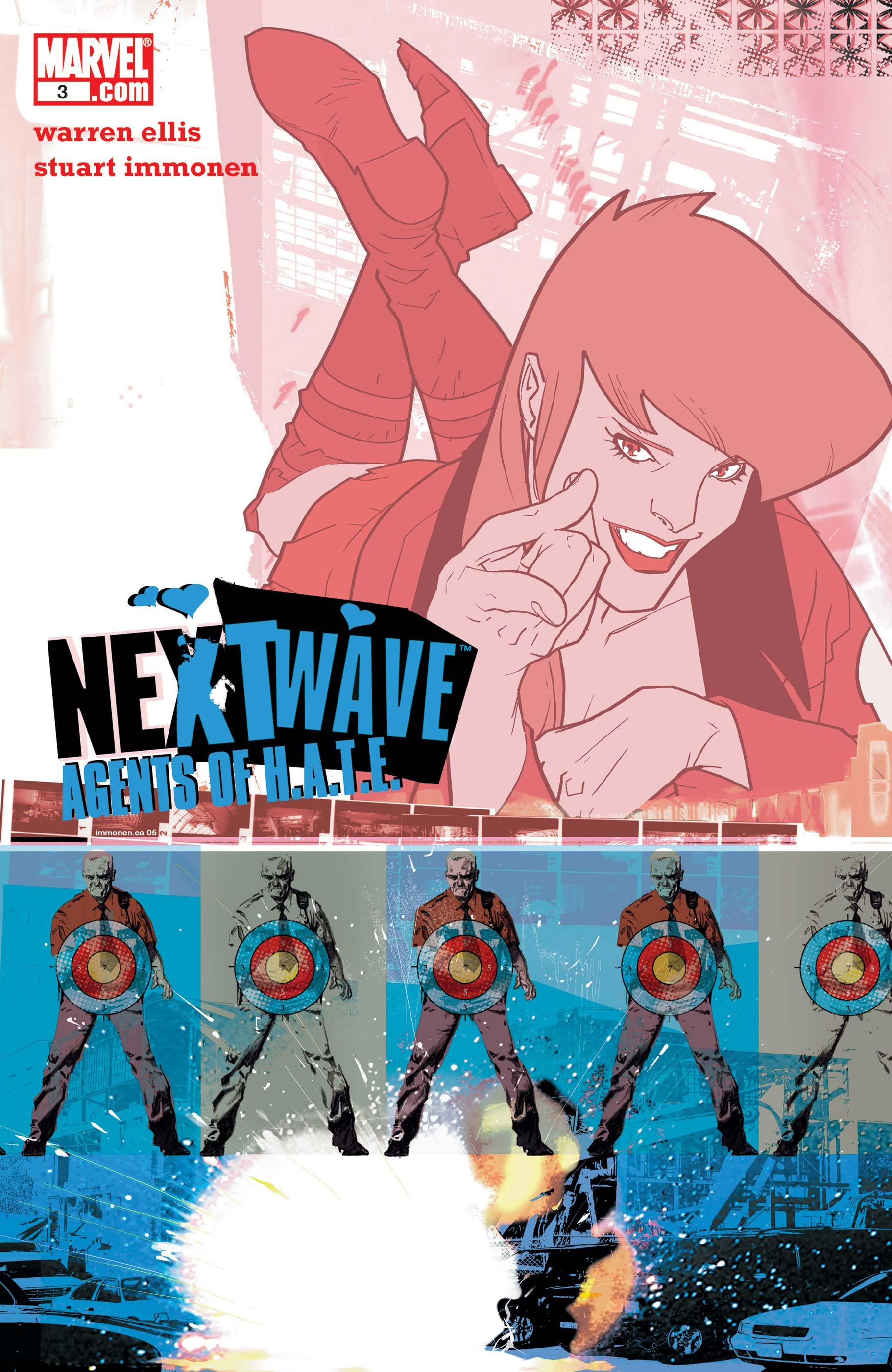 Nextwave: Agents of H.a.T.E. (2006) #3