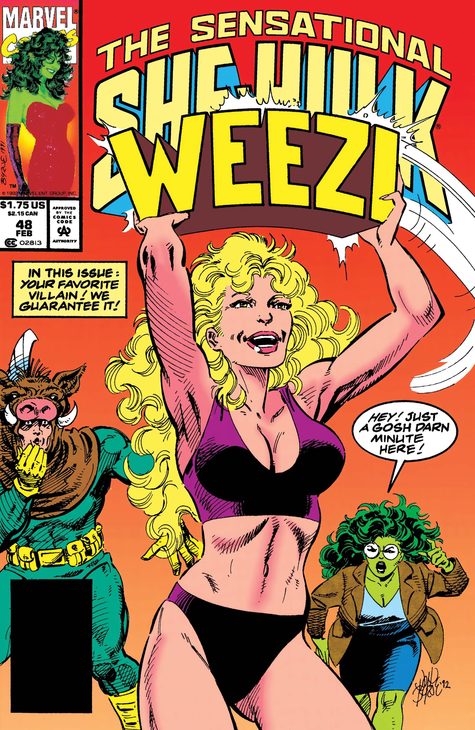 Sensational She-Hulk (1989) #48