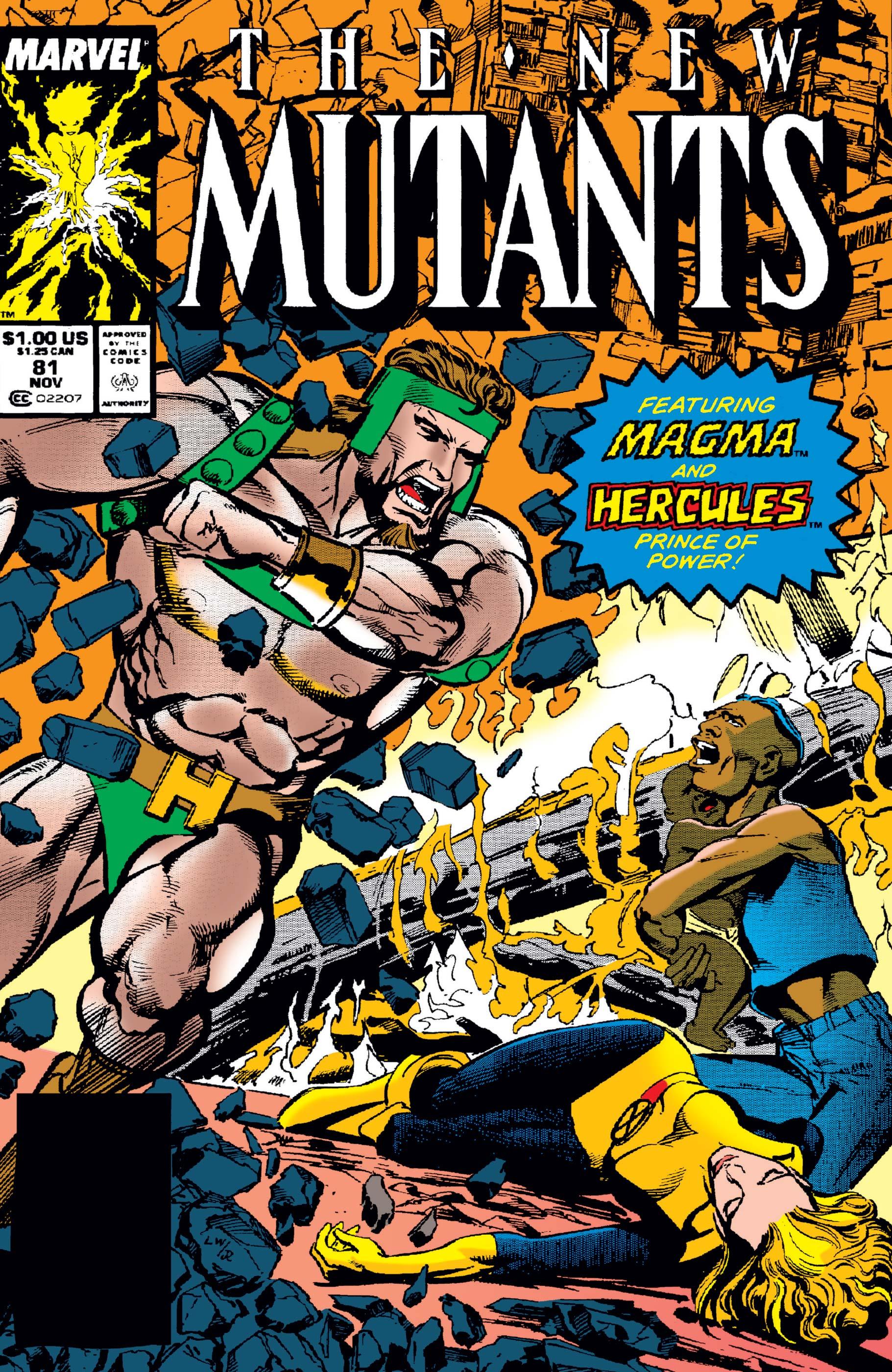 New Mutants (1983) #81