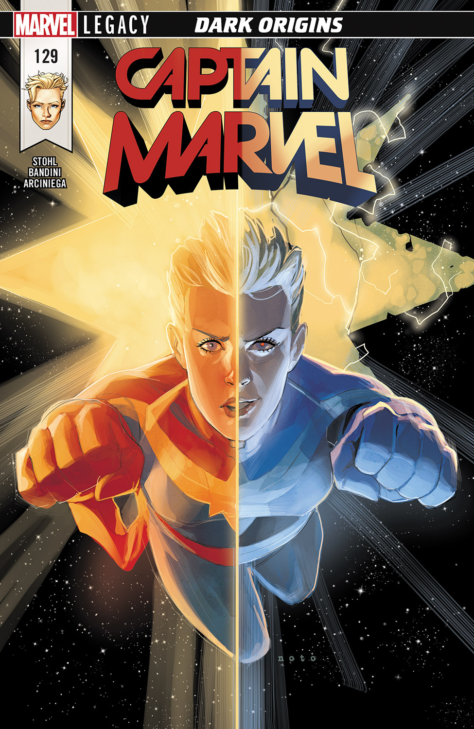 The Mighty Captain Marvel (2017) #129