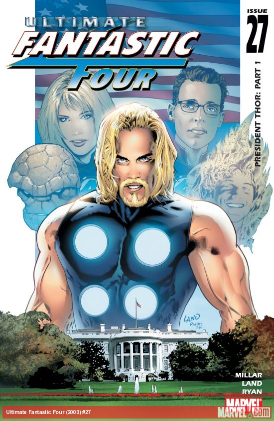 Ultimate Fantastic Four (2003) #27