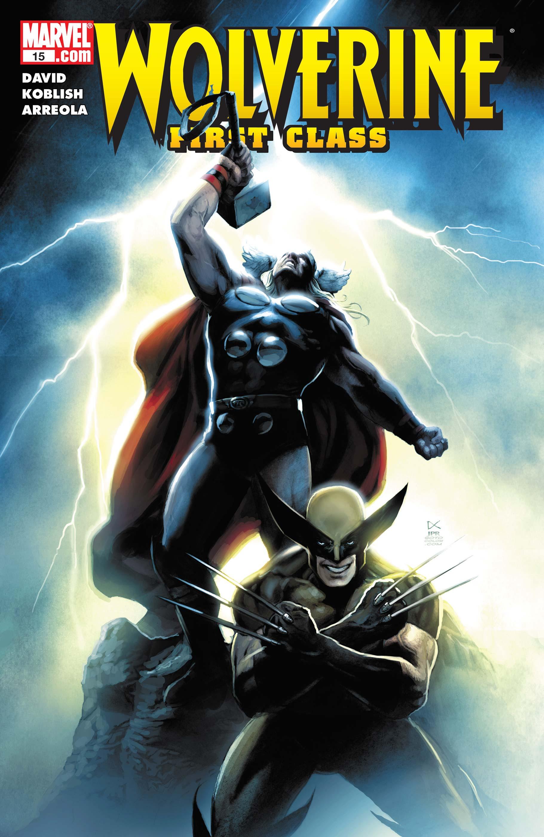 Wolverine: First Class (2008) #15