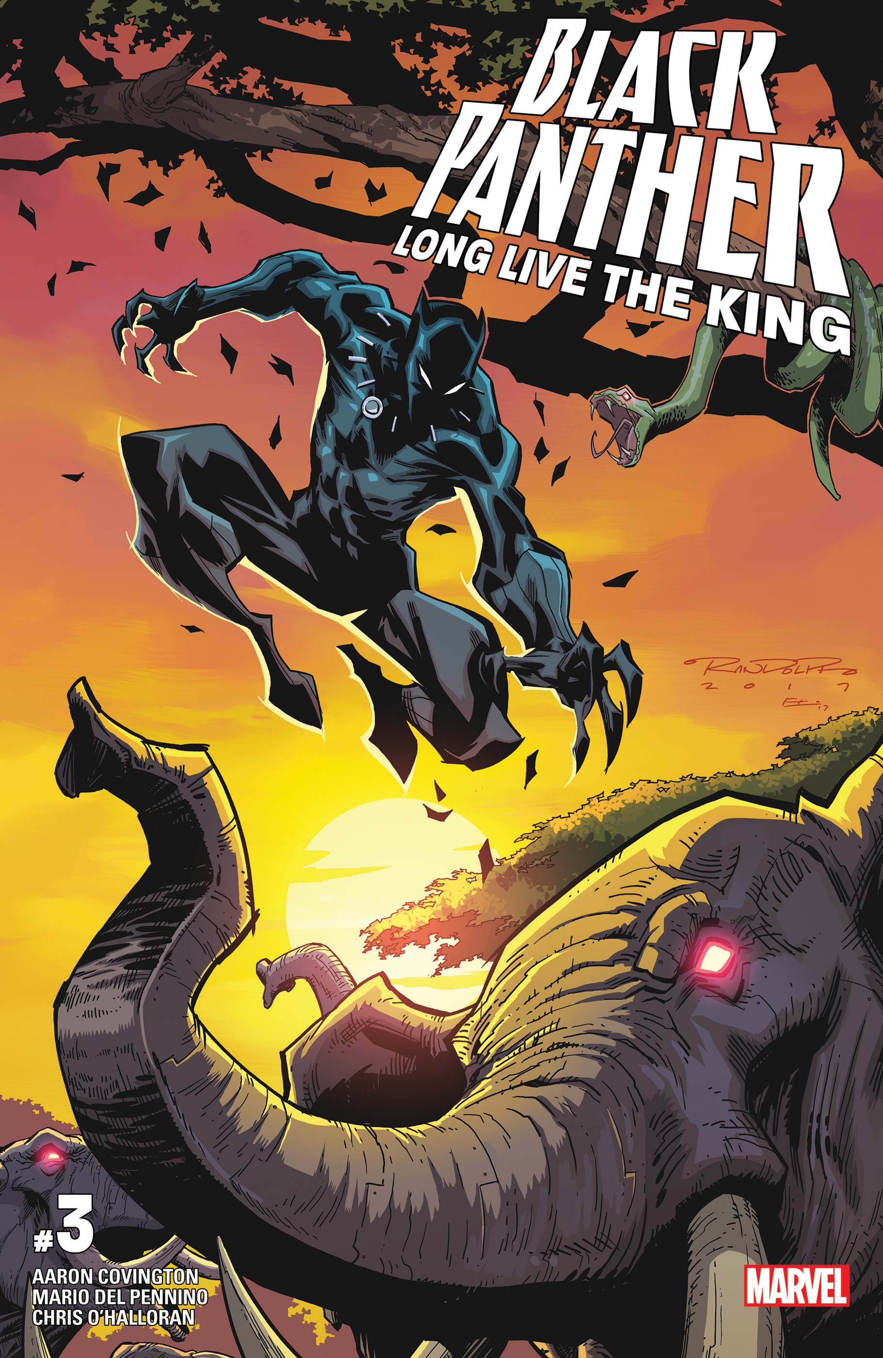Black Panther - Long Live the King (2017) #3